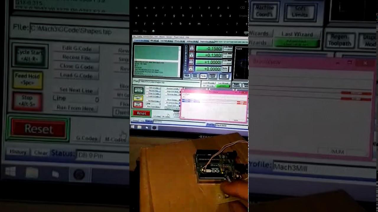 Mach3 und Arduino uno modbus