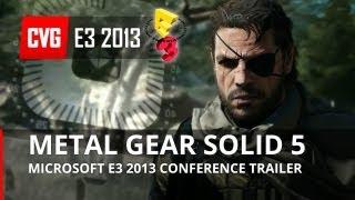 Metal Gear Solid 5: The Phantom Pain E3 2013 Gameplay Trailer