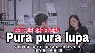 MAHEN PURA PURA LUPA (cover) Arie - Vidio official