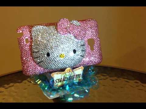 Hello Kitty Case Samsung Galaxy note crystal by Suksiam.wmv
