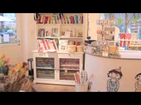 amerikanische stoffe berlin trollinge youtube. Black Bedroom Furniture Sets. Home Design Ideas