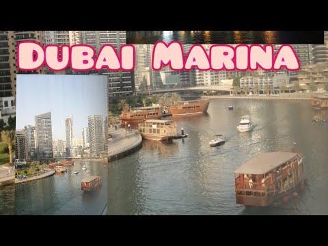 A day in Dubai Marina| Pearl Marina Apartment ||Mommy&Eily