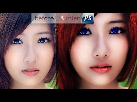 Photoshop CC Tutorial : Outdoor Portrait Editing 📷 - YouTube