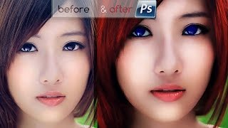 Edit Foto Model Karakter [Games] Warna 3D PS