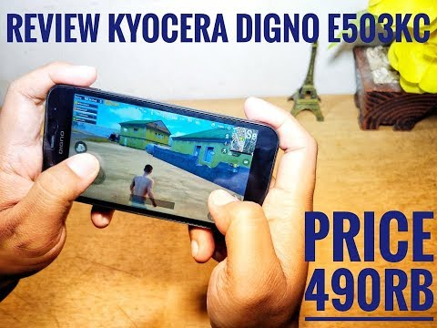 Review Kyocera Digno E503KC # Android 490rb Paket Hemat