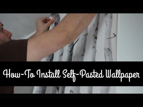 How To Hang Pre-pasted Wallpaper For Beginners Paper By