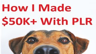 How I Earned $50K 🤑 How To Make Money Reselling PLR Products!