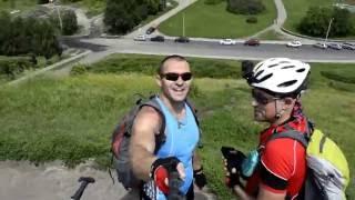 Вело прогулка на Холм Славы в Черкассах 2016