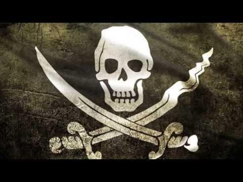 Pirate Flag and an Island Girl