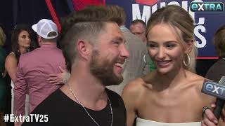 Chris Lane Says He's 'Happiest He's Ever Been' with Lauren Bushnell