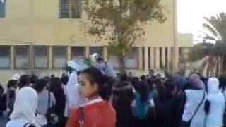 Bouira-Vidéos de  Lycée Hamza -le lycée hamza continue de soutenir l'équipe algérienne-part 2