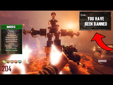 I GOT BANNED FROM BLACK OPS 2 ZOMBIES...