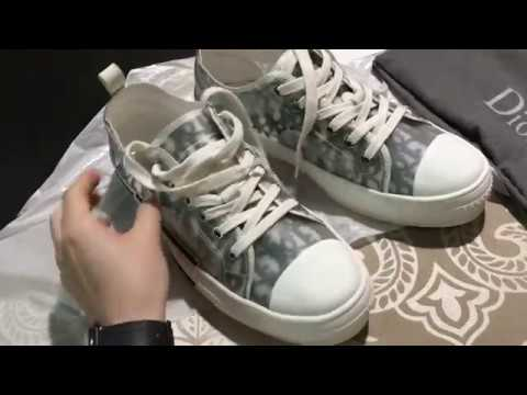 7ae4471b4e26 Hottest Sneakers-- Review On Dior Homme Much Hyped B23 Low Top Sneakers  2019SS in Oblique