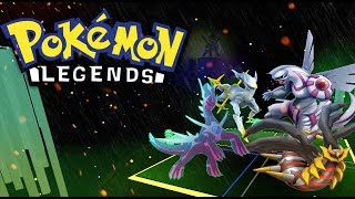 Roblox: Pokemon Legends - Randomizer! Got a LEGENDARY!
