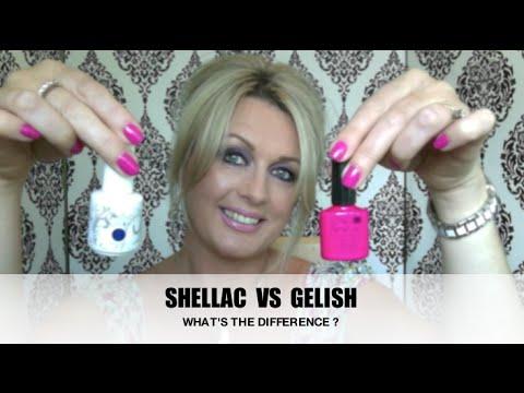 gelish shellac skillnad