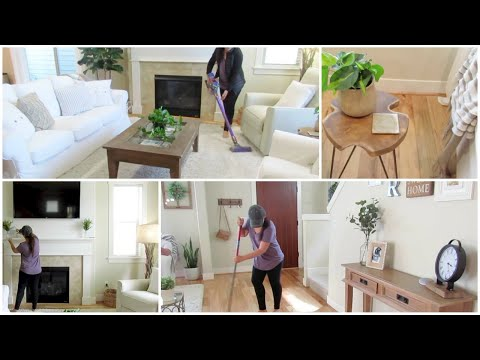 ALL DAY CLEAN WITH ME +  New Furniture Layout | Major Cleaning Motivation