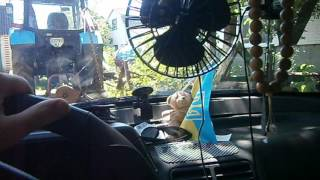 Автомобильный вентилятор SOLAR SL 101. ОБЗОР. ДЕШЕВО!