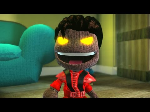 LittleBigPlanet 2 - Michael Jackson - Thriller Remake - Music Video
