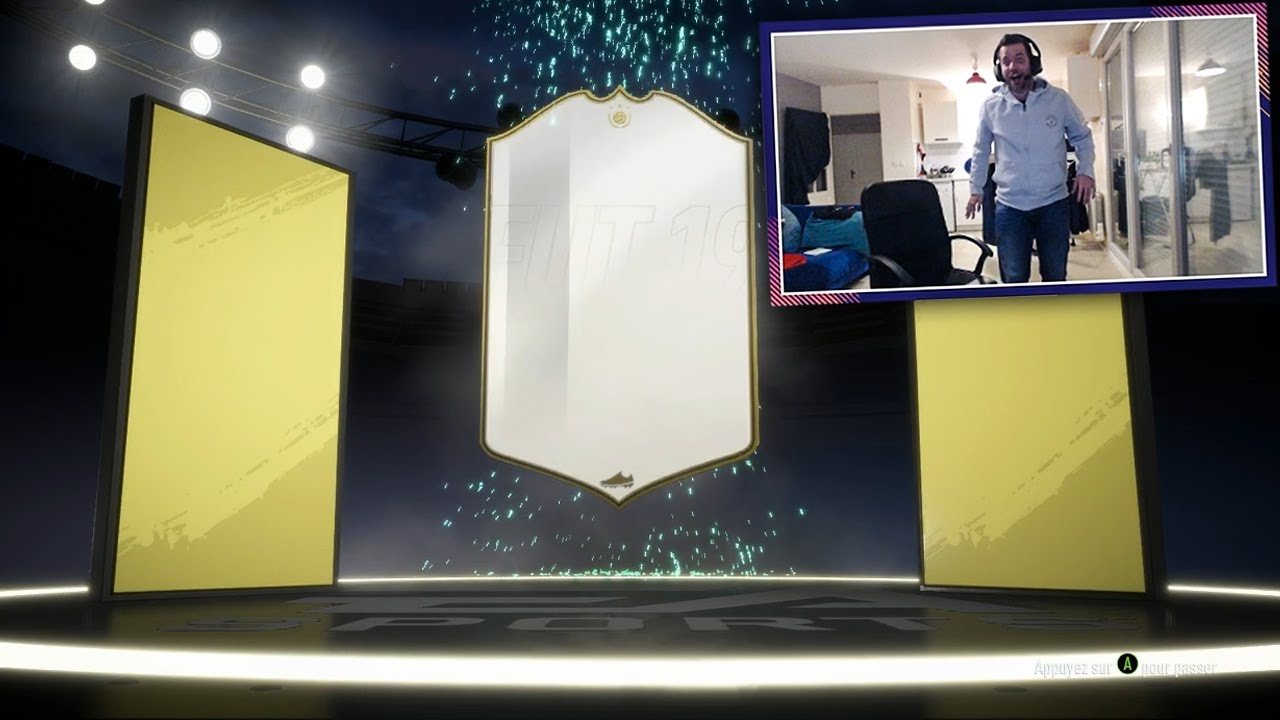 JE PACK UNE ICON - ENORME PACK OPENING FIFA19