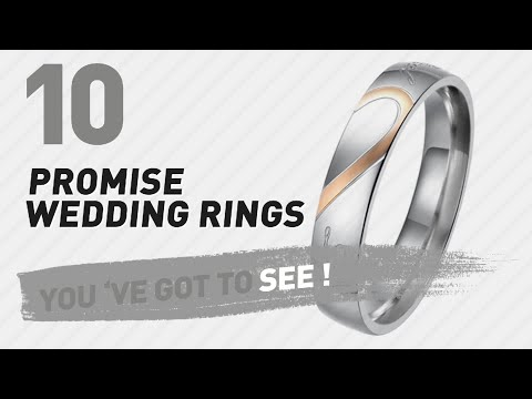 Promise Wedding Rings Top 10 Collection 2018