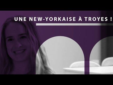 Une New-Yorkaise à Troyes ! | École Supérieure de Design de Troyes