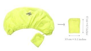 VENZO 70D Nylon Waterproof Dust Rain Case Cover For Travel Camping Pannier Rack Bag