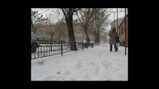 Алчевск зимой 2015 года