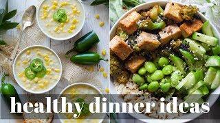 QUICK + HEALTHY DINNER IDEAS [VEGAN] | PLANTIFULLY BASED