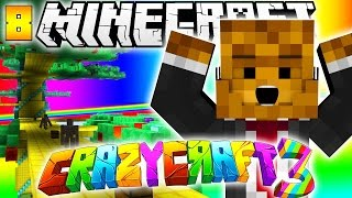 Minecraft CRAZY CRAFT 3.0 - GOODNESS TREE + THE KING #8