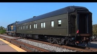 The Dover Harbor Pullman Car Gets Moved Thru Laurel