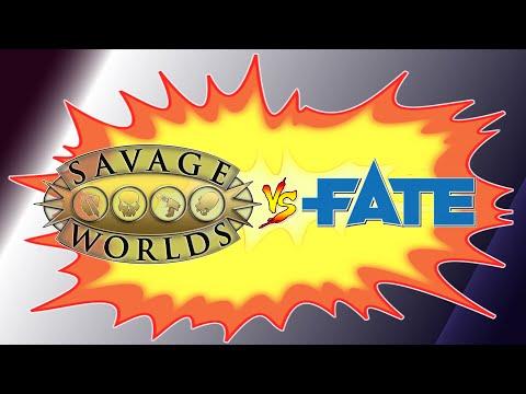 GdR Versus #5 - Savage Worlds VS Fate