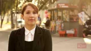 """32) Chile """"40 Voces, 40 Años"""" Mariana Loyola """"Antes había un país menos arribista"""""""