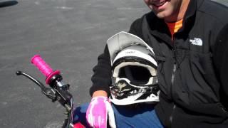 Two Guys on Mini-Bikes