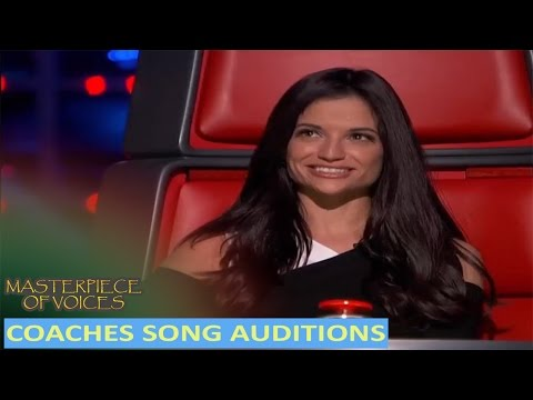 BEST COACH SONG COVER AUDITIONS IN THE VOICE KIDS [REUPLOAD]