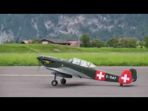 SM 2014 C-3603 Schweizer Luftwaffe EKW C-36 Model R/C Warbird