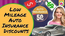 How to Qualify for Low Mileage Auto Insurance Discounts | Save Money Tricks |