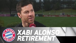 Xabi alonso announces retirement