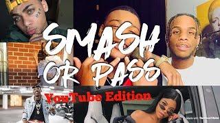 SMASH OR PASS! (YOUTUBE EDITION) Armon and Trey, Dearra, Queen Naija etc..