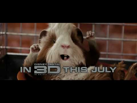 Disney S G Force 3d Movie Trailer 2009 Youtube