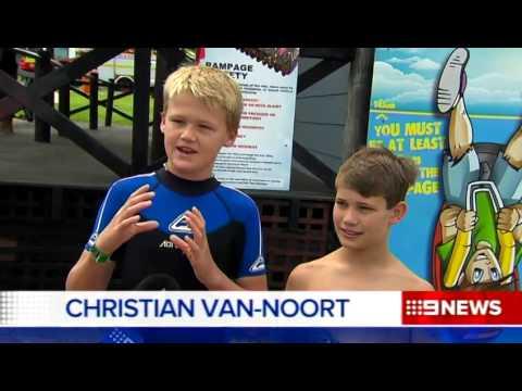 Adventure World Rescue - Nine News Perth
