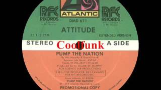 Attitude - Pump The Nation (12 Extended Funk 1983)
