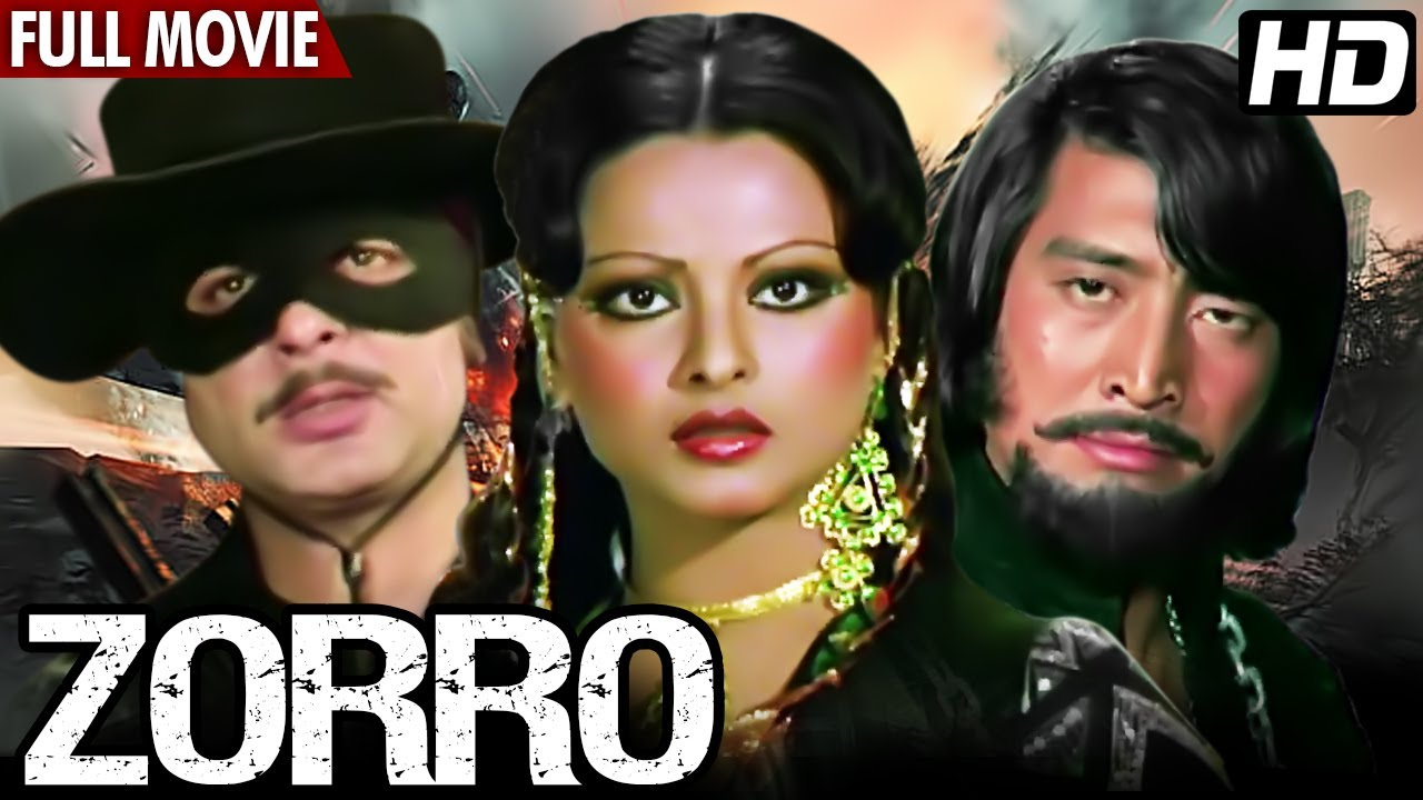 Download देखिये हिंदी एक्शन फिल्म Zorro Full Movie | Rekha | Navin Nischol | Hindi Action Full Movie