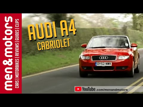 Audi A4 Convertible (2003) - YouTube
