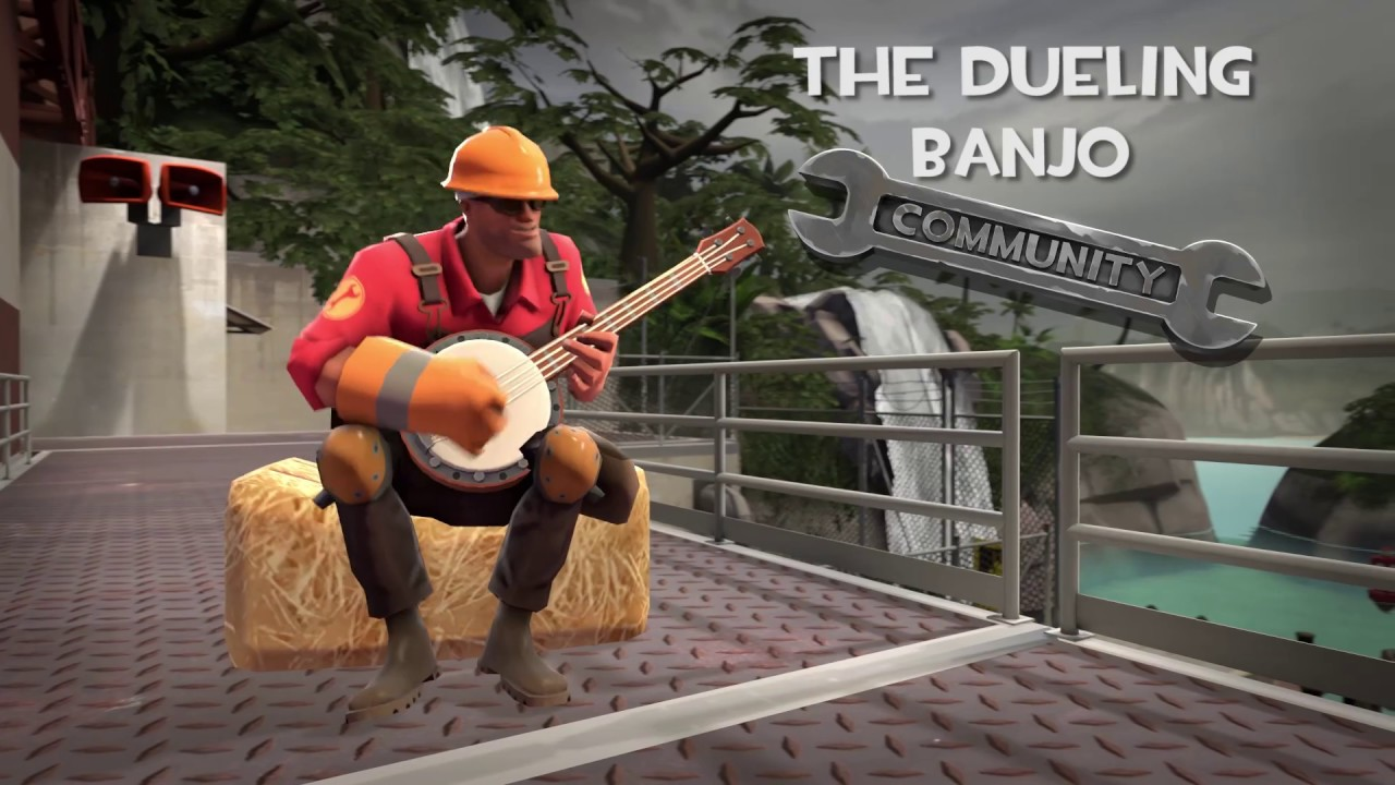 Dueling Banjo - Official TF2 Wiki | Official Team Fortress Wiki