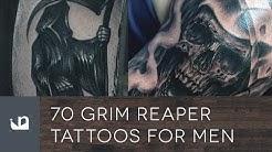 70 Grim Reaper Tattoos For Men