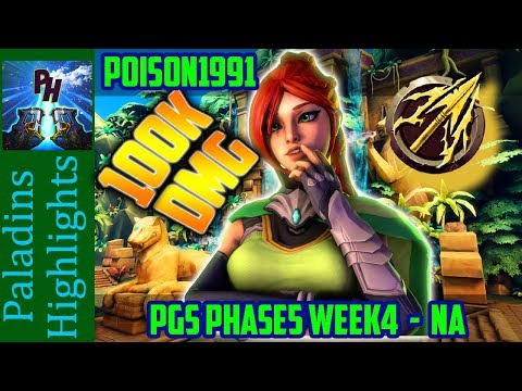Poison1999(SC) on Impulse Cassie vs ToXicity Game2 Paladins Global Series Phase5 Week4 - NA