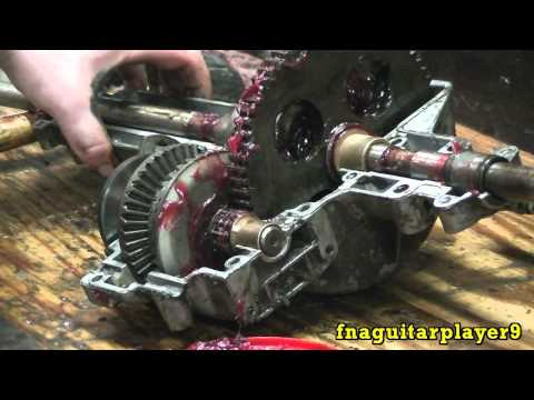 MTD Transaxle Basic Rebuild (Replacing all Bearings) Part 2 of 2