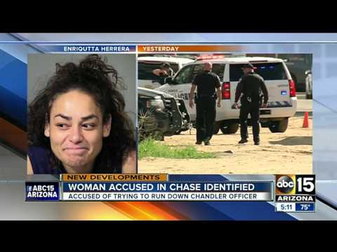 Police identify woman accused of ramming Chandler police vehicle and starting chase