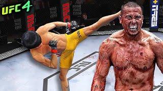 UFC4 | Bruce Lee vs. Jun Yong Park (EA sports UFC 4)