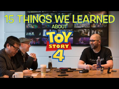 Podcast #65: 15 Facts We Learned About Toy Story 4 While Chatting With Josh Cooley & Mark Nielsen